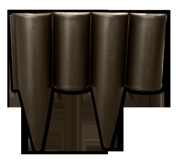 Палисад PALGARDEN коричневый - 2,5 м, OBP1202-002BN
