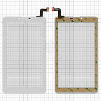 Сенсор для Prestigio MultiPad 3407 Wize 4G Оригинал Белый 31 pin (184 * 104 мм) #MTCTP-70760/MTCTP-70152/DP070023-F1/ZHC-0525A/FPC-FC70S786-00