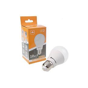 Лампа светодиодная ЕВРОСВЕТ 10Вт 6400К A-10-6400-27 Е27 (000040821), фото 2