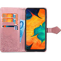 Чехол книжка Art Case Xiaomi Redmi 8A Розовый