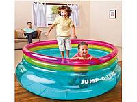 Батут-гральний центр надувний Jump-O-Lene, Intex 48267