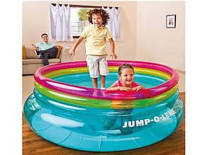 Батут-игровой центр надувной Jump-O-Lene, Intex 48267