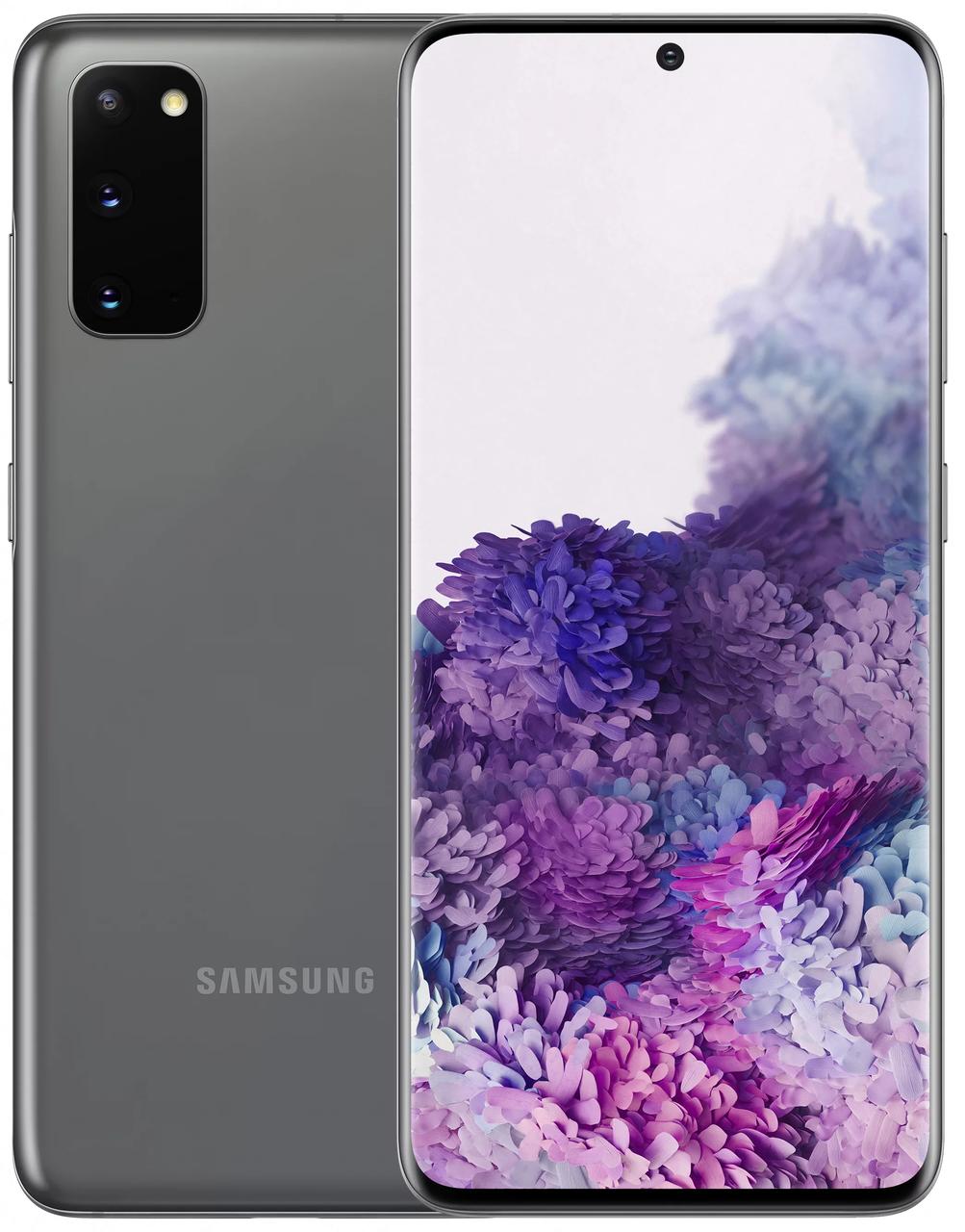 Смартфон Samsung Galaxy S20 2020 G981F 12/128Gb Cosmic Gray (SM-G981FZAD)