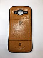 Оригинальный Чехол Бампер для Samsung J2 2016 коричневый