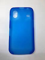Оригинальный Чехол Бампер для Samsung S5830 синий