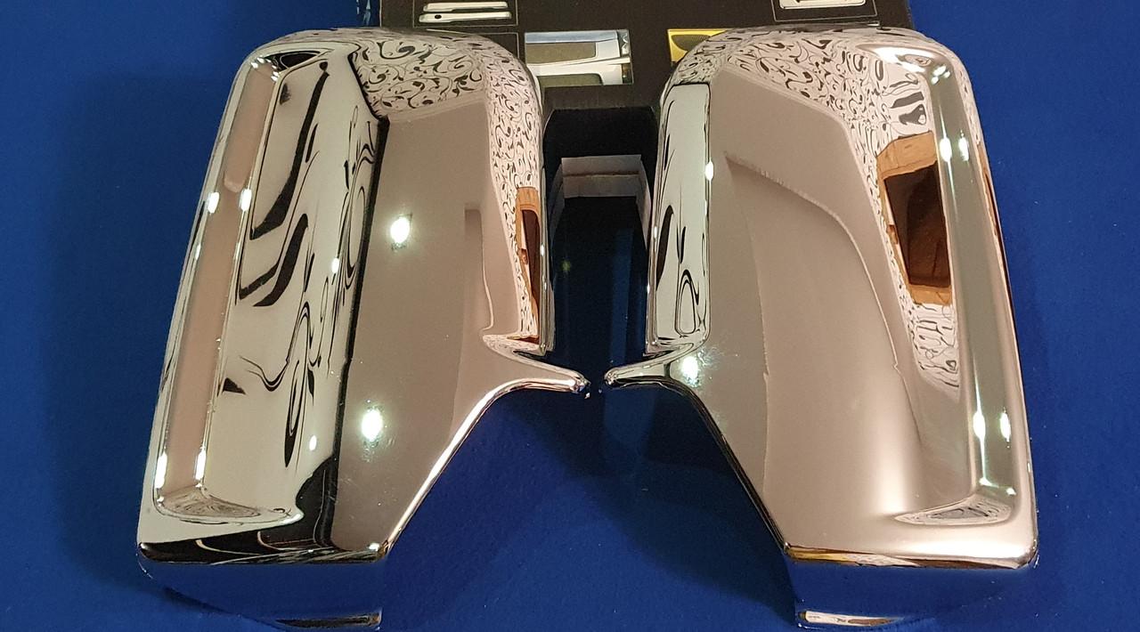 Хромированные накладки зеркал mercedes sprinter 906