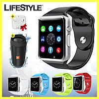 Умные часы-телефон Smart Watch GT08 / Смарт часы + Колонка JBL и Наушники в Подарок