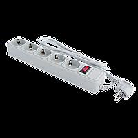 Сетевой фильтр LogicPower LP-X5 4.5 м 5 розеток Grey