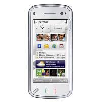 Мобильный телефон Nokia N97 Finland белый