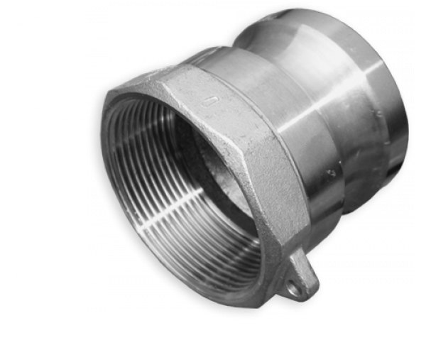 "KAMLOK Тип A - Адаптер РВ 2"" - нерж/сталь, CGA200A/SS"
