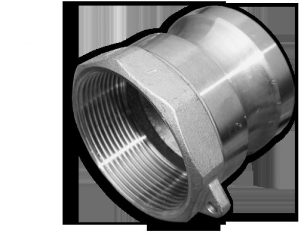 "KAMLOK Тип A - Адаптер РВ 4"" - нерж/сталь, CGA400A/SS"