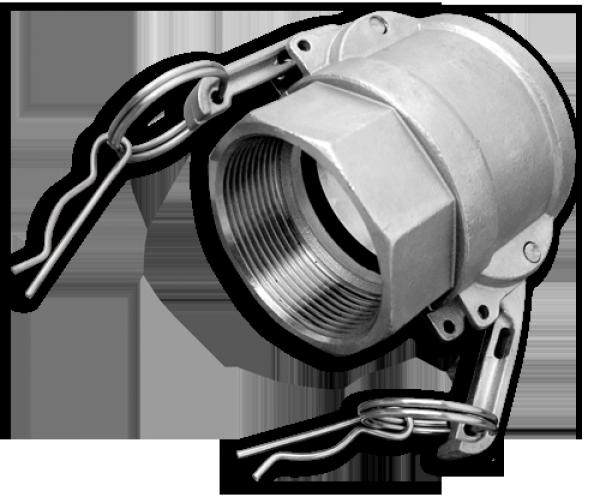 "KAMLOK Тип D - РВ 4"" - нерж/сталь, CGD400A/SS"