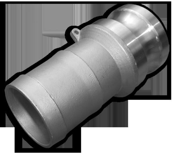 "KAMLOK Тип E - Адаптер на шланг 4"" - нерж/сталь, CGE400A/SS"