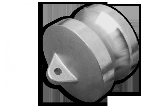 "KAMLOK Тип DP - Адаптер-заглушка 1"" - нерж/сталь, CGDP100A/SS"