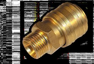 """Коннектор РН 3/8"""" - латунь, SE2-3SM"""
