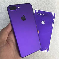 Виниловая Наклейка для iPhone 7 фиолетовая
