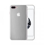 Виниловая Наклейка для iPhone 6 Plus Серебристая