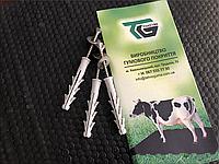 Маты резиновые, коврики для крупного рогатого скота КРС (1800х1200х25мм) резиновое покрытие для коровников