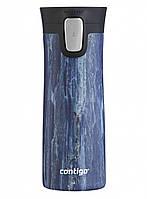 Термокружка Contigo Pinnacle Couture Blue Slate 420 мл 2106511, фото 1