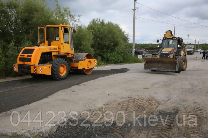Строительство и ремонт дорог в Украине