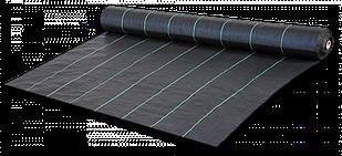 Агроткань против сорняков PP, черная UV, 70 гр/м? размер 0,8 х 100м, AT7008100
