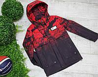 Куртка код 6-1027  размеры на рост от 32(116) до 40(152) возраст от 6 до 12 лет, фото 1