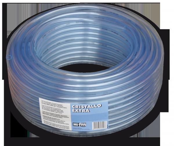 CRISTALLO Шланг прозрачный игелитовый 7*1 мм, IGCE07*09/100