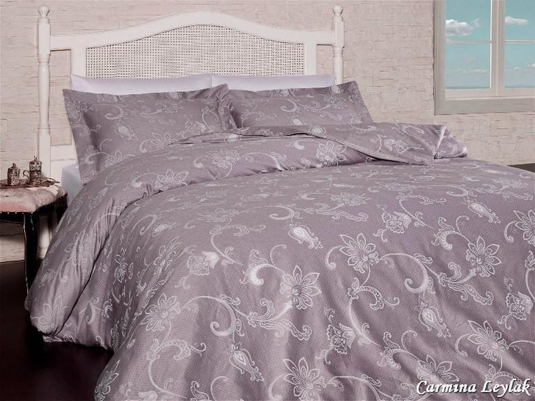 Комплект постельного белья First Choice Satin Carmina Leylak