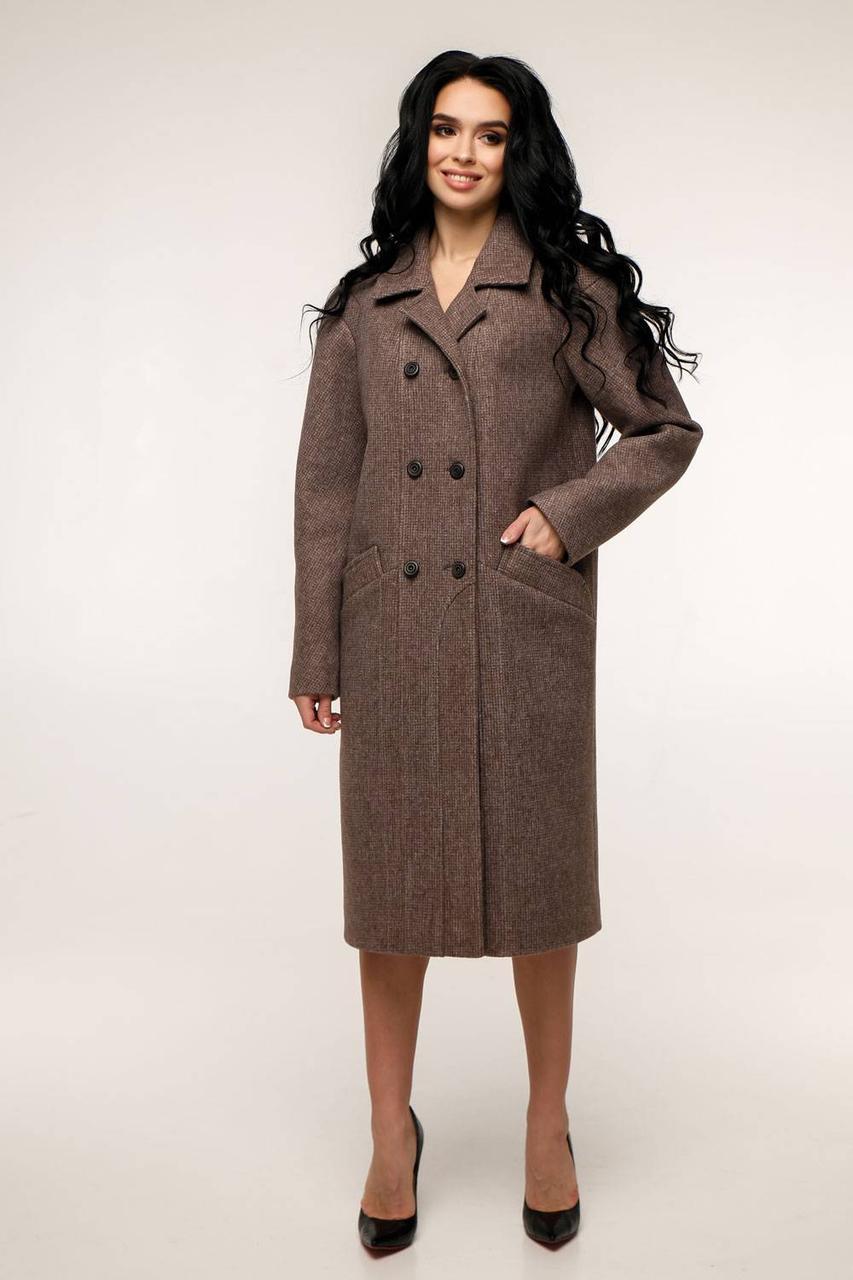 Стильное длинное пальто