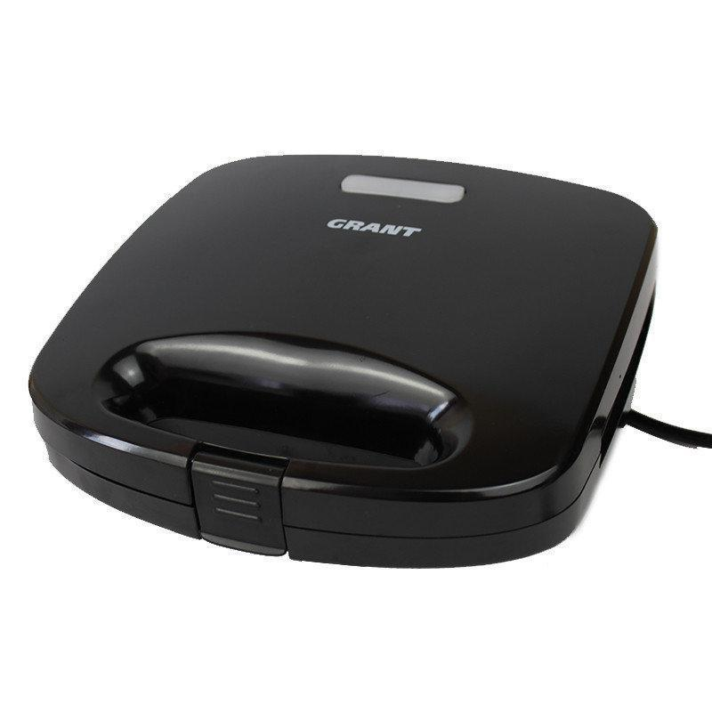 Сэндвичница-гриль-вафельница GRANT GT 780 800W 3 в 1 черная