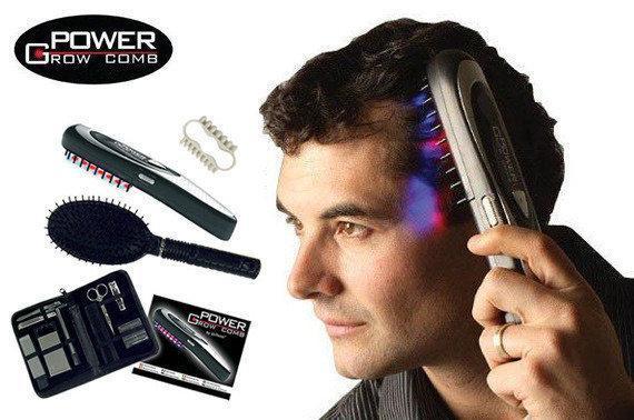 Лазерная расческа от выпадения волос Power Glow Comb