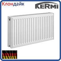Cтальной панельный радиатор KERMI FKO тип 22 500х500 боковое подключение