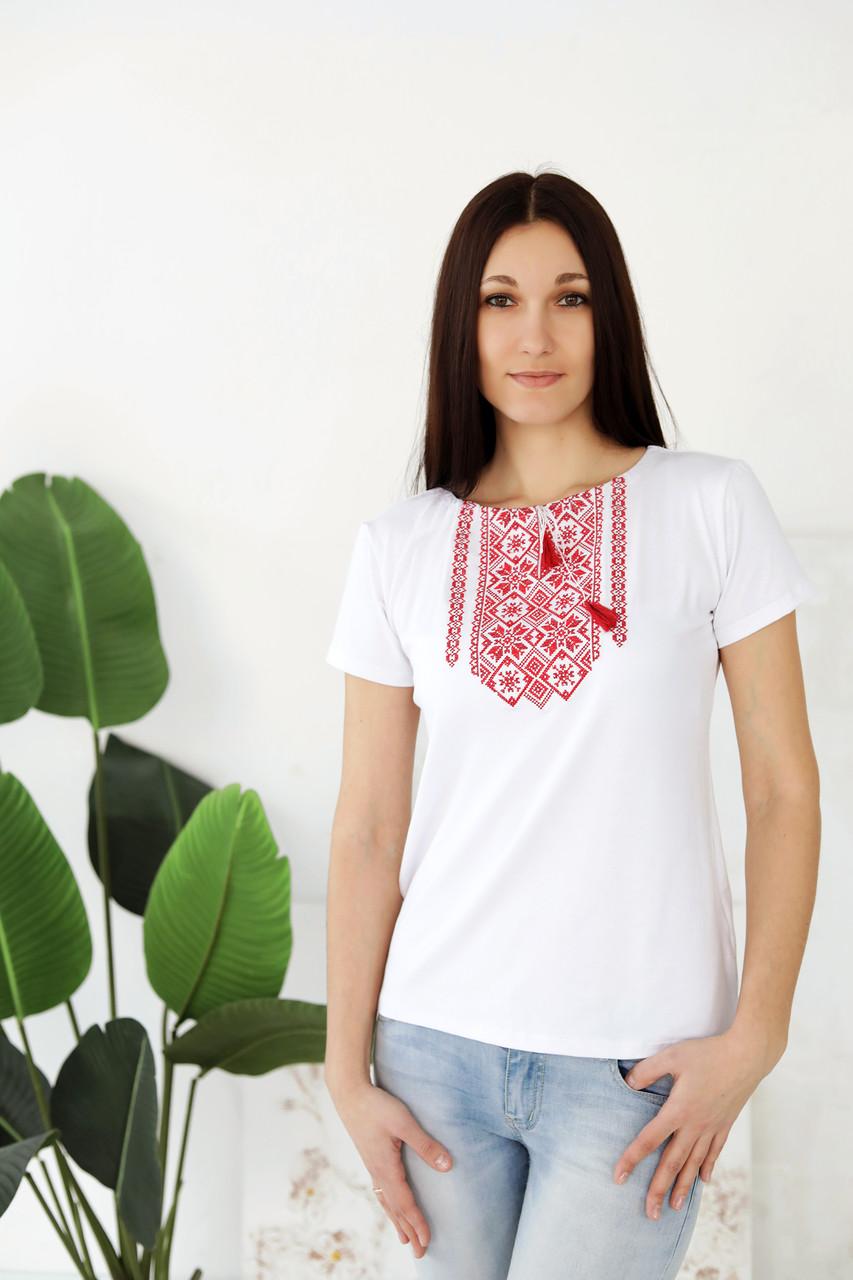 Жіноча вишита футболка комплект А-28
