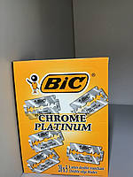 Набор лезвий для станка Bic Chrome Platinum, 100 шт