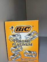 Набор лезвий для станка Bic Chrome Platinum, 100 шт
