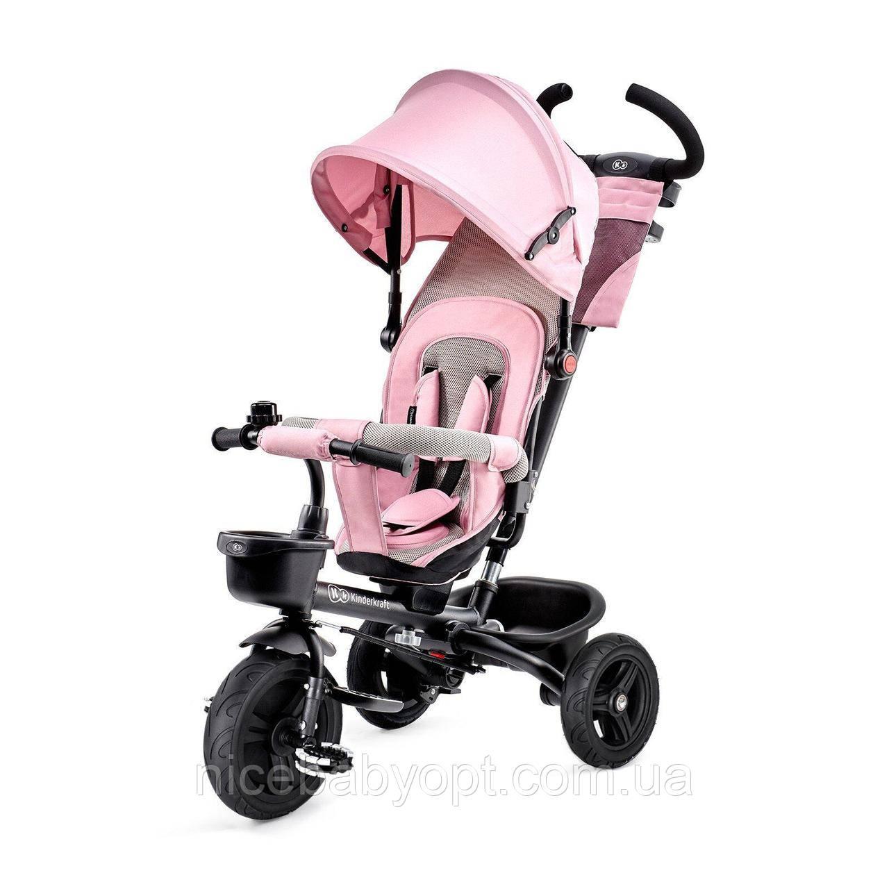 Триколісний велосипед Kinderkraft Aveo Pink