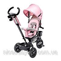 Триколісний велосипед Kinderkraft Aveo Pink, фото 4
