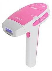 Фотоэпилятор (лазерный эпилятор) Umate T-006 Pink сменная насадка #S/O