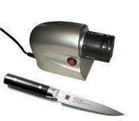 Электрическая точилка для ножей, ножниц, отвёрток