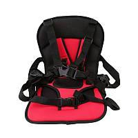 Бескаркасное детское автокресло Multi Function Car Cushion (красное)