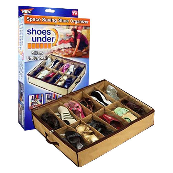 Органайзер для зберігання взуття на 12 пар Shoes Under