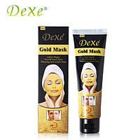 Омолаживающая косметическая маска с ионами золота Dexe Gold Mask, фото 1