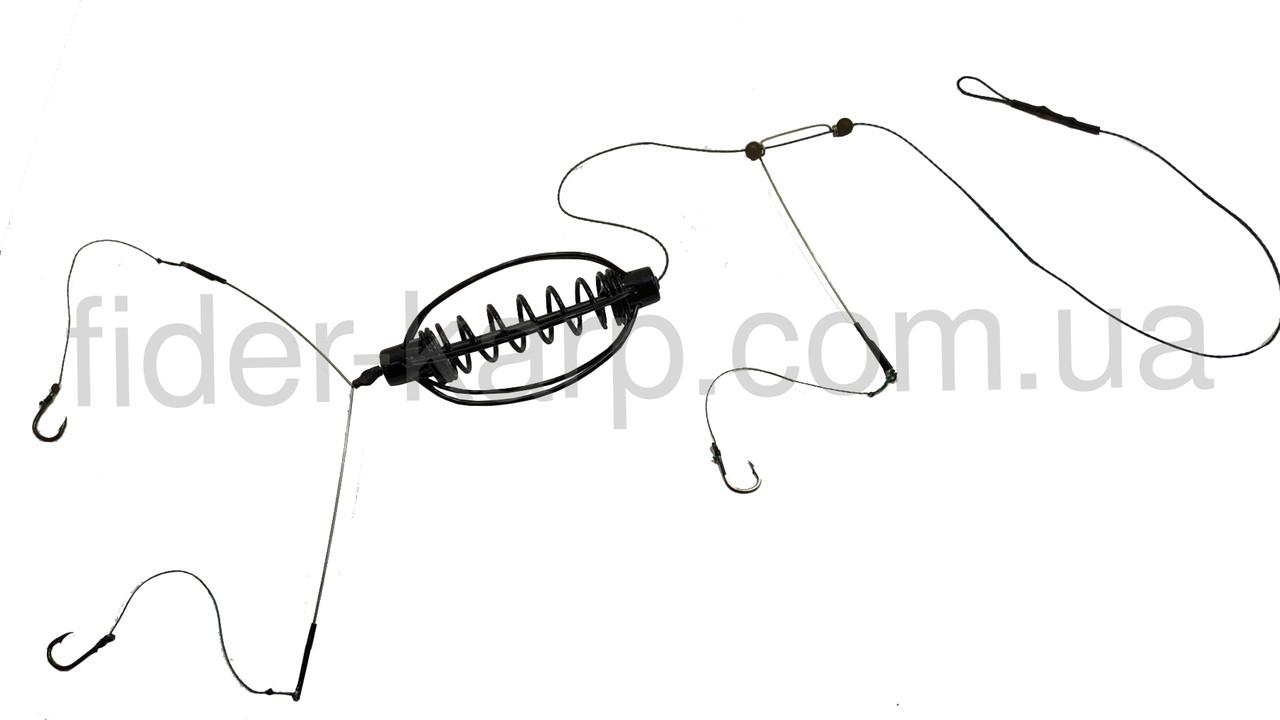 "Рыболовная кормушка ""Tornado"" (НЕРЖАВЕЙКА) , вес 30 грамм"