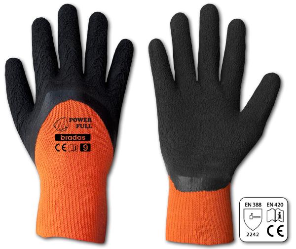 Перчатки защитные POWER FULL латекс, размер 11, RWPF11