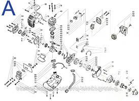 Запчасти для мотокосы бензиновой Sadko GTR-2100
