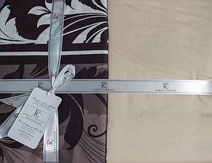 Комплект постельного белья First Choice Сатин Eylul kahve, фото 2