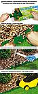 Бордюр газонный PALISGARDEN 75м, набор-125 элементов/60 см*38мм+300 колышков GeoPEG, коричневый, OBP1201-075BN, фото 2