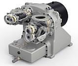 Гвинтовий компресор безмасляний  змінної швидкості модель IRN55 -75K-OF, фото 5