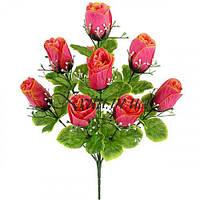 Букет бутонов роз, 44см
