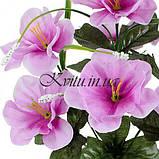 Искусственные цветы букет азалия усатая, 29см, фото 2